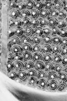 abstrakte Schwarz-Weiß-Runde foto