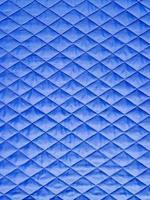 blaues Gewebe mit Raute