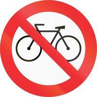 Keine Fahrräder in Chile