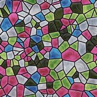 Glasmosaik nahtlos erzeugte Textur foto