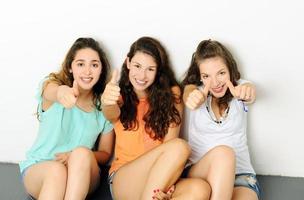 Glückliche Mädchen