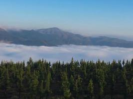 gefallene Wolken foto