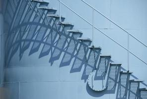 blaue Stufen foto