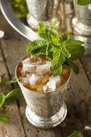 erfrischender kalter Minz-Julep foto
