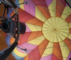 Heißluftballon foto