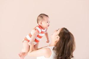 Mutter und Sohn foto
