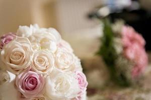 Hochzeitsstrauß von Blumen foto