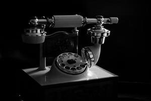 klassisches Telefon foto