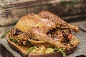 gegrilltes Hühnchen foto