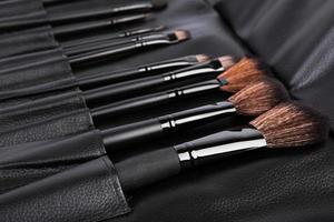 Satz kosmetischer Pinsel für Make-up