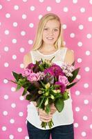 Blumen für die Mutter foto