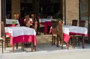 griechische Taverne foto