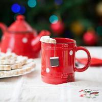 Tee und Kekse foto