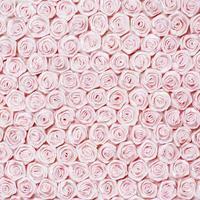 Hochzeitshintergrund von rosa Rosen