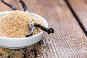 Vanillezucker (braun)