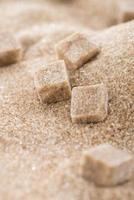brauner Zucker (Hintergrundbild) foto