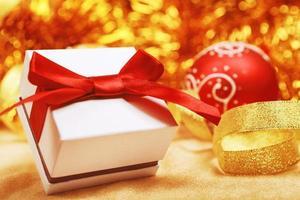 Weihnachtsgeschenk foto