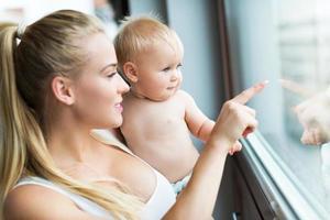 Mutter und Baby foto