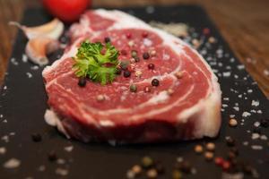 frisches Fleisch foto
