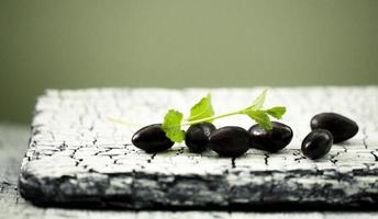 dunkle Schokolade foto