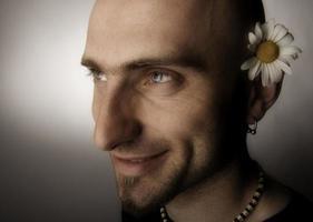 fröhlicher Hippie foto