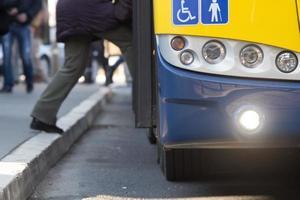 Bus - öffentliche Verkehrsmittel foto