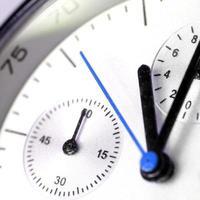 tolle Uhr. foto