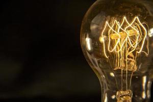 Edison Glühbirne foto