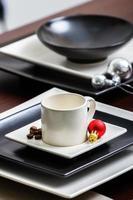 dekorierter Tisch foto