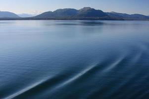 ruhiges und schönes Alaska foto
