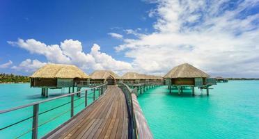 Paradies in Bora Bora foto