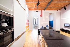 Küche in Junggesellenwohnung foto