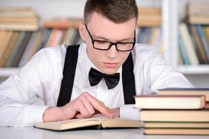 intelligenter Schüler