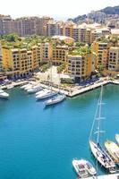 Monaco und der Hafen foto