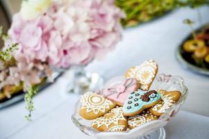 dekorierte Kekse