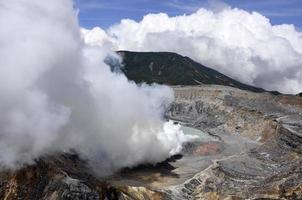 Poas Vulkan foto