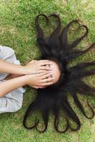 Mädchen coole Frisur