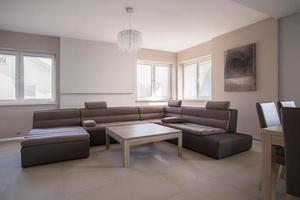 großes extravagantes Sofa foto