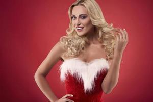 Ich kann dein Weihnachtsmann sein, wenn du willst foto