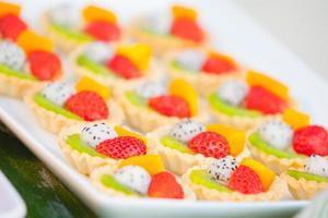 Desserts und Essen foto