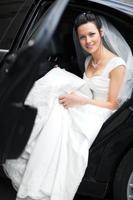 junge Braut foto
