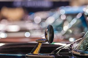 Autos auf einer Autoshow ausgestellt foto