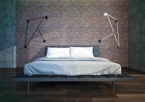 modernes Schlafzimmer Interieur foto