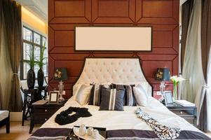 Luxus komfortables Schlafzimmer foto