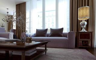 Wohnzimmer Art-Deco-Stil foto