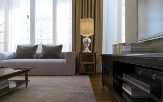 Wohnzimmer Art Deco und moderner Stil foto
