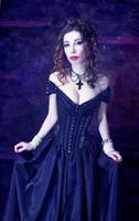 viktorianische Dame.