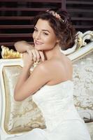 wunderschöne Braut foto
