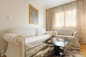 elegantes Wohnzimmer Interieur