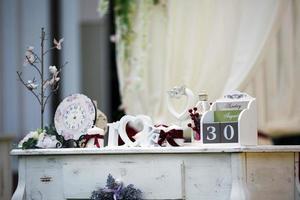 Hochzeitsdekor foto